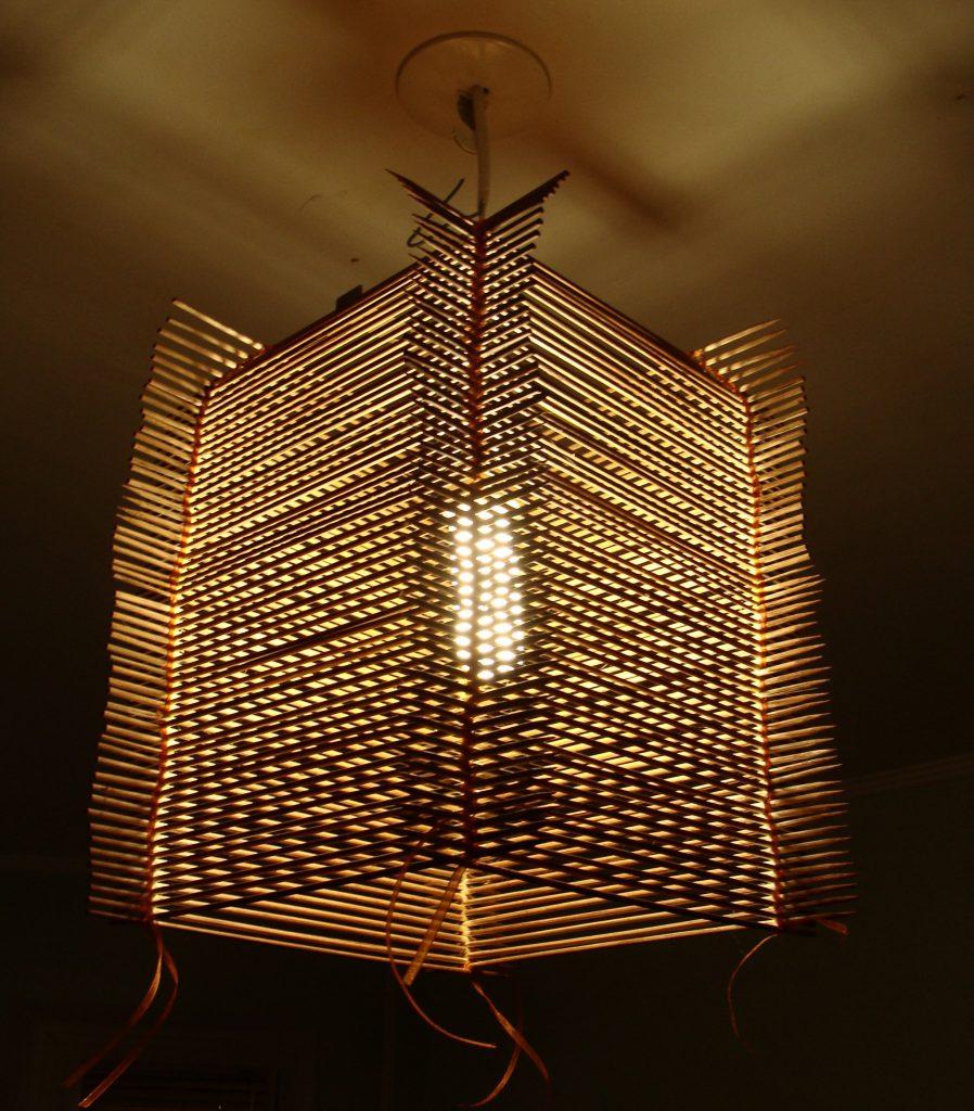 Lampadari Con Bottiglie Di Vetro come realizzare un lampadario dalla pioggia. lampadario fai
